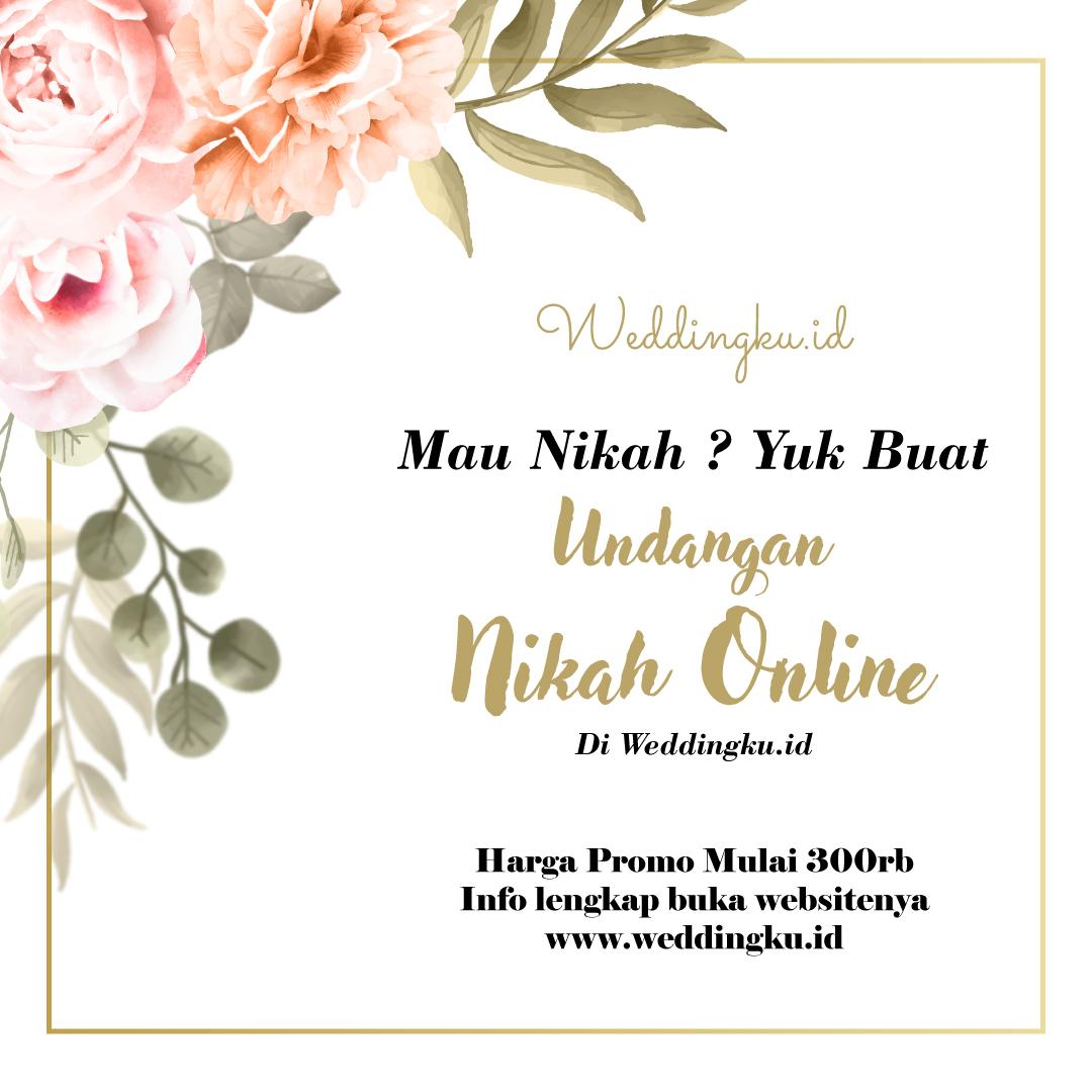 Undangan Pernikahan Online by Weddingku.id